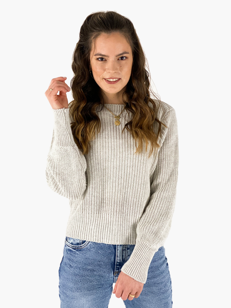 Jean and Jil Pullover Fenja sand