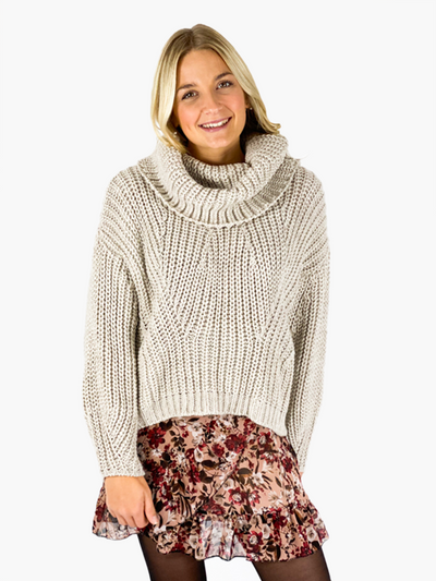 Jean and Jil Strickpullover Liz sand