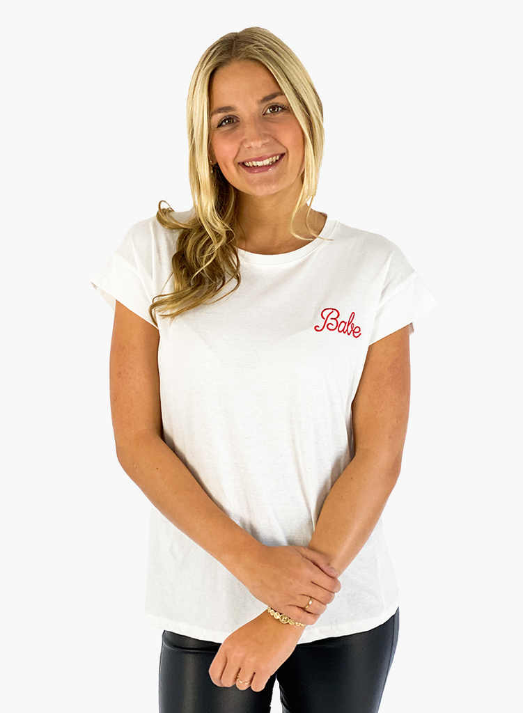 Jean and Jil T-Shirt Babe red