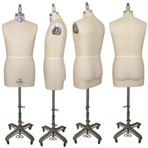 Industry Pro Pinnable Male Dress Form w/ Hip - DI-MDF-108