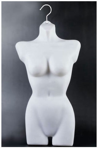 Female Upper/Lower Torso Mannequin - OM-FT-117