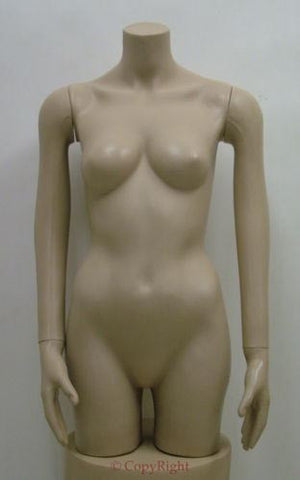 Female Upper/Lower Torso Mannequin - OM-FT-105