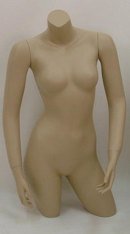 Female Upper/Lower Torso Mannequin - OM-FT-111