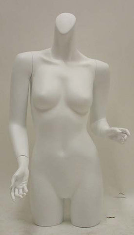 Female Upper/Lower Torso Mannequin - OM-FT-112