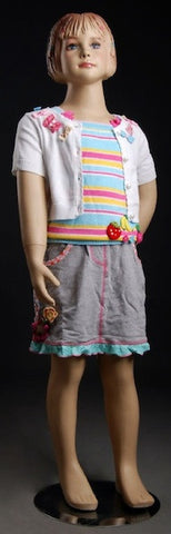 Female Child Mannequin - OM-FC-102