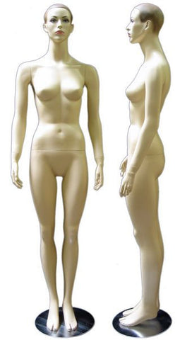 Female Molded Hair Mannequin-Holly
