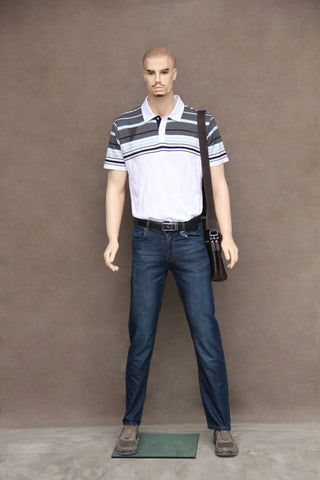 Male Molded Hair Mannequin - Kyle