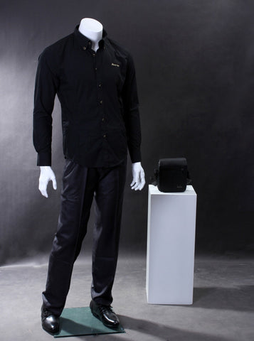 Male Molded Hair Mannequin - Leon
