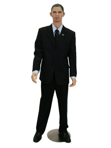 Ethnic Male Mannequin - Obama 3