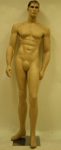 Male Molded Hair Mannequin - Stanley