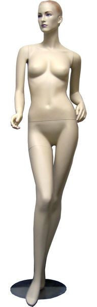 Female Molded Hair Mannequin - Mia