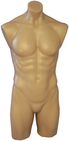 Male Upper/Lower Torso Mannequin - RD-MT-106