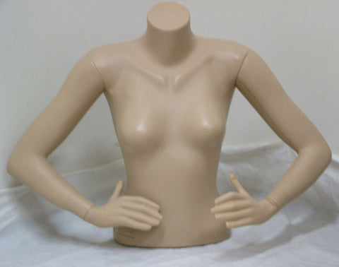 Female Upper/Lower Torso Mannequin - OM-FT-110