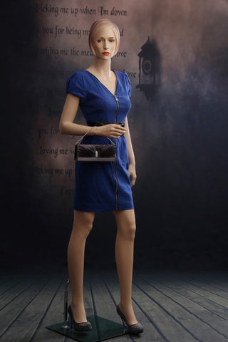 Female Molded Hair Mannequin - Francesca