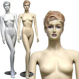 Female Molded Hair Mannequin - Ella