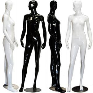 Abstract Female Mannequin in High Glossy Paint- Jessica