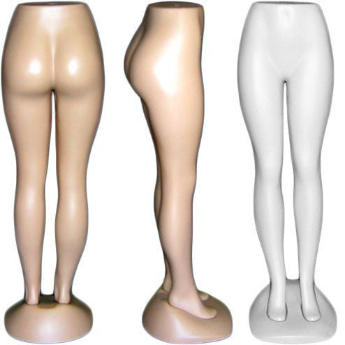 Plastic Brazilian Lower Female Torso Form - DI-FT-111