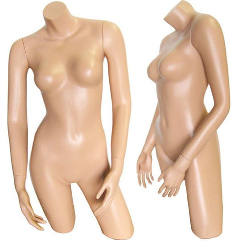 Female Plastic Full Body Torso Form - DI-FT-102