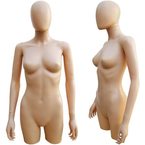 Female Upper Body Torso Form w/ Removable Head - DI-FT-101