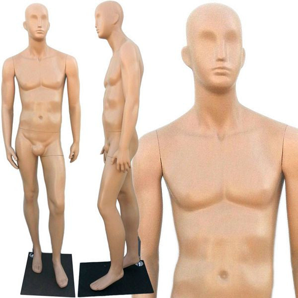 Plastic Abstract Male Mannequin - Ivan