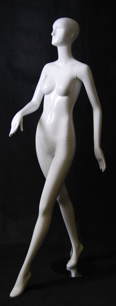 Abstract Female Mannequin - Maple