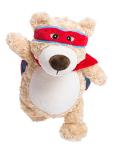 Load image into Gallery viewer, Cubbies Cubbyford Hero Blue & Red Bear