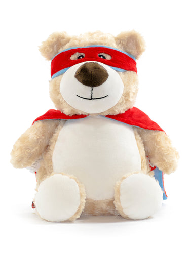 Cubbies Cubbyford Hero Blue & Red Bear