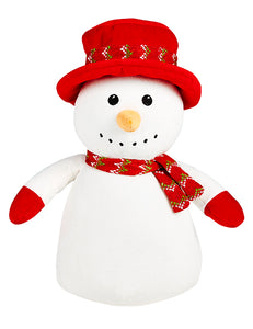 Cubbies Mr Didley Diddlington Snowman with Red hat