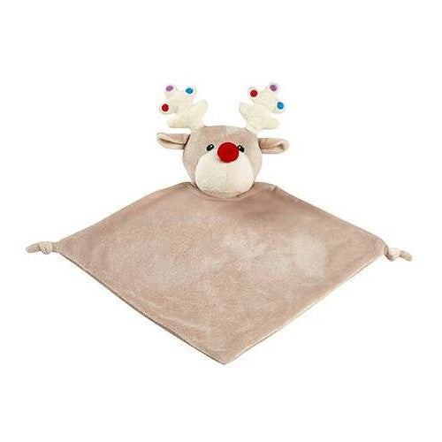 Cubbies Christmas Reindeer with Baubles Blankie