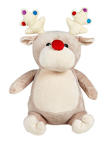 Cubbies Taupe Reindeer with Baubles