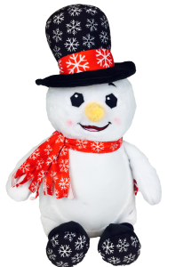 Cubbies Mr Didley Diddlington Snowman with Black hat