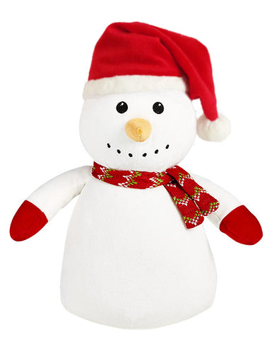 Cubbies Snowman with Red Santa Hat