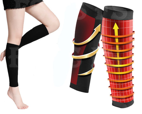 FASHION LADIES SLIMMING WEIGHT LOSS CALF SHAPER SHANK LOWER LEG FAT BUSTER BAND