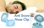 2 Pcs Silicon Anti Snore Stop Snoring Device Nasal Apnea Aid Nose Clip Sort Blocked Nose