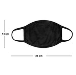 COTTON FACE MASK FABRIC WASHABLE UNISEX MOUTH MASKS PROTECTIVE REUSABLE 3 LAYERS