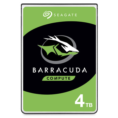 "Seagate BarraCuda HDD 3.5"" Internal SATA Desktop HDD 4TB , 6GB/S SATA 2 Year Warranty"