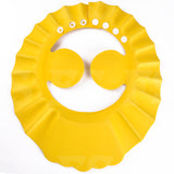 ADJUSTABLE BABY SHOWER CAP EAR COVER KIDS CHILDREN BATH SHIELD HAT WASH HAIR