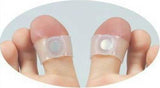 A PAIR OF SOFT SILICONE MAGNETIC FOOT MASSAGE TOE RING SLIMMING EASY AND HEALTHY