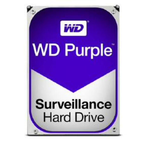 "WD HDD 3.5"" Internal SATA 2TB Purple, Variable RPM, 3 Year Warranty - WD20PURZ"