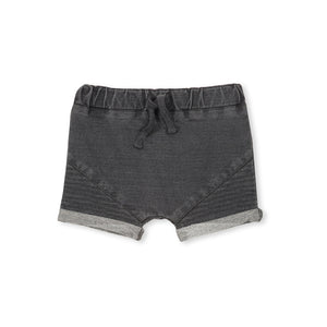Milky Stitch Track Shorts