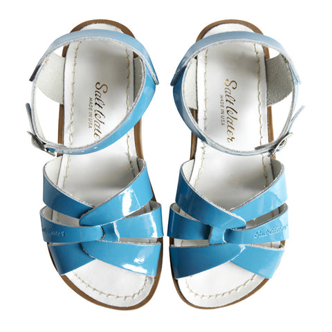 saltwater sandals turquoise - Chalk