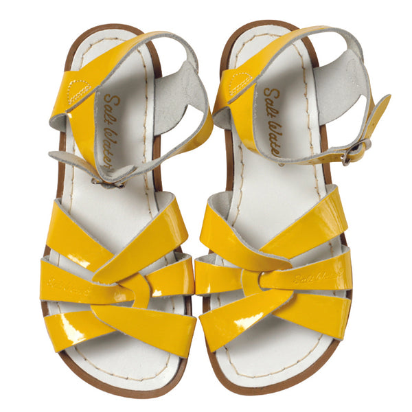 saltwater sandals yellow - Chalk