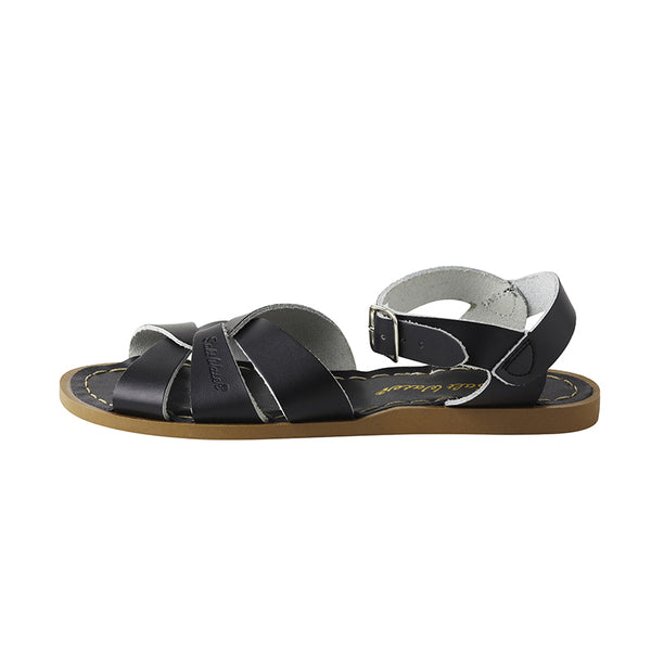 saltwater sandals black - Chalk
