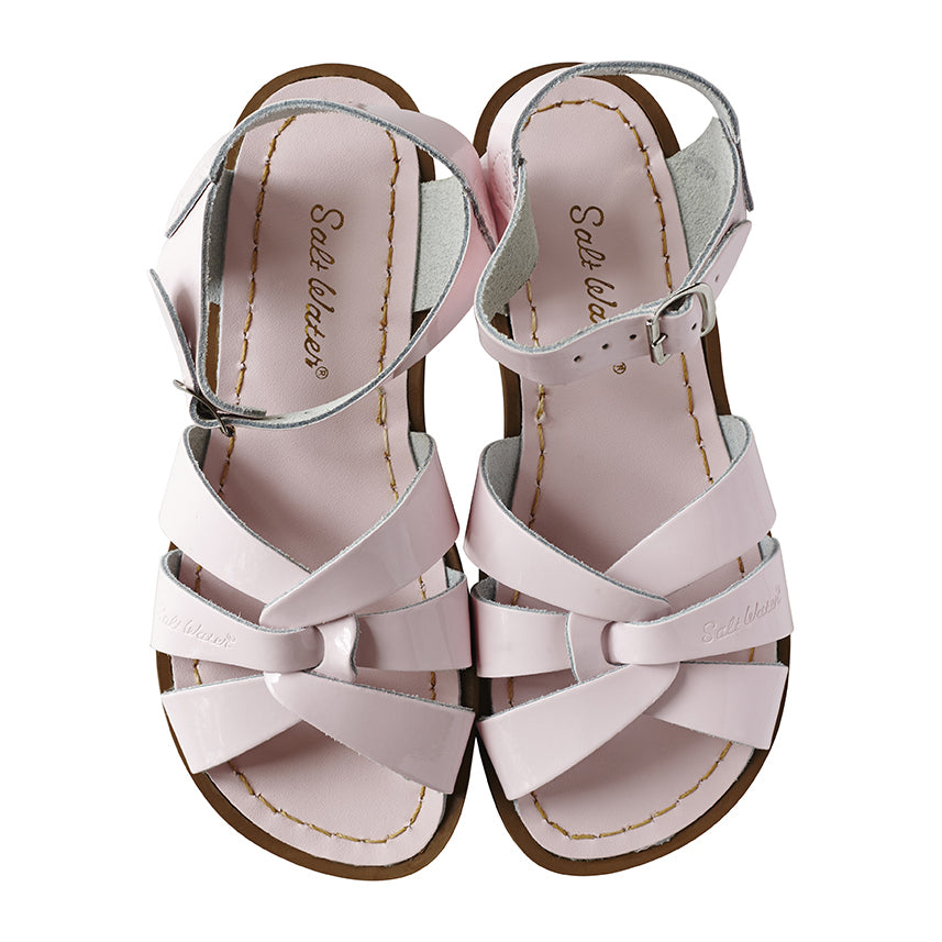 Saltwater Sandals Shiny Pink