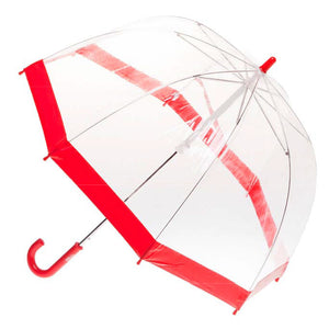 Clifton Brolly Umbrella Clear Red