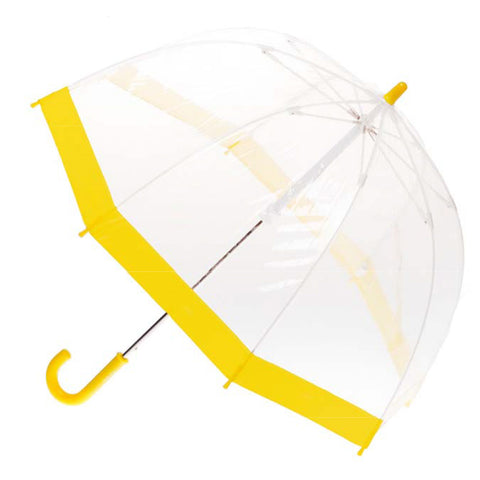 Clifton Brolly Umbrella Clear Yellow - Chalk