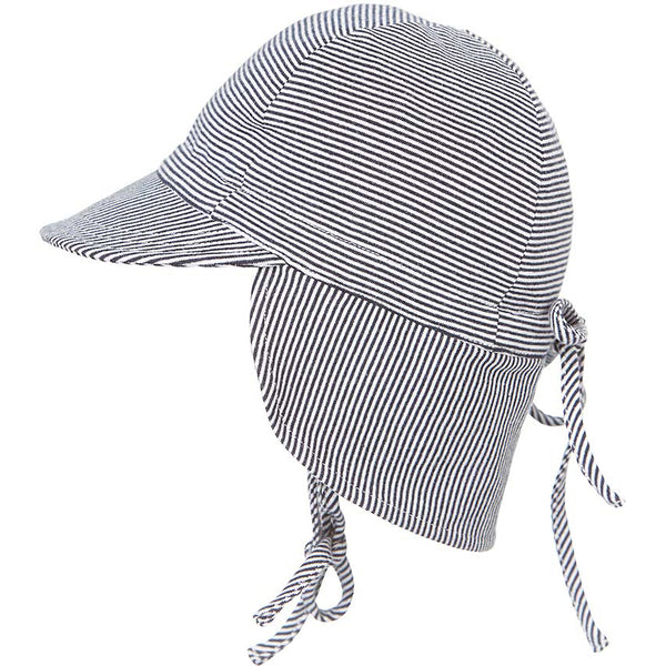 Toshi Sunhat Flap Cap Baby Periwinkle