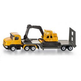 siku low loader with excavator - Chalk