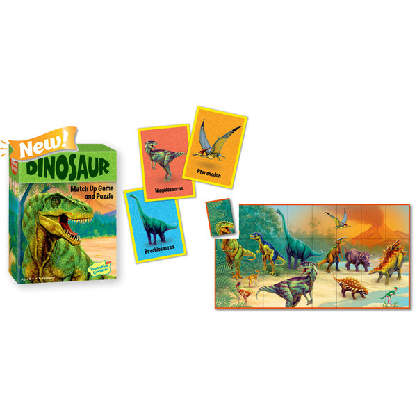 peaceable kingdom match up game dinosaur