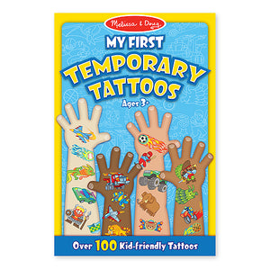Melissa & Doug My First Temporary Tattoos Boys